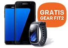 Ontvang een GRATIS Gear Fit 2 bij een Samsung Galaxy S7 en S7 edge