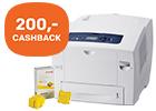Tot honderden euro's cashback op geselecteerde Xerox printers