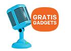 GRATIS megagadget spinning hat speaker t.w.v. 19,95 bij HP monitoren