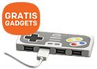 GRATIS Nintendo USB hub t.w.v. 19,95 bij een HP notebook, pc of workstation