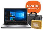 Best verkochte HP notebook met GRATIS HP tas t.w.v. 59,- + GRATIS JBL speaker t.w.v. 29,-