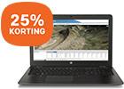 Ontvang 25% korting op twee verschillende HP ZBooks