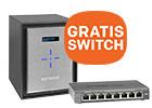 GRATIS NETGEAR ProSAFE switch bij aankoop van ReadyNAS