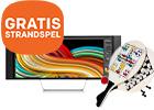 Bestel nu uw nieuwe HP monitor en krijg GRATIS beachgames
