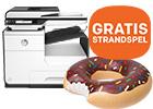 Bestel nu uw HP printer en krijg GRATIS een opblaasbare donut t.w.v. 25,-