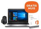 HP notebook + office & GRATIS Logitech muis t.w.v. 99,-