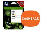 Koop originele HP inktcartridges met cashback tot 30,-