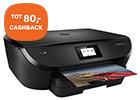 Profiteer van cashback tot maar liefst 50,- op diverse HP printers met inkt