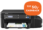 Tot 50,- Back to School cashback op Epson printers