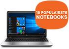 De vijftien best verkochte zakelijke notebooks van HP voor het MKB