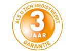 3 jaar OKI-garantie