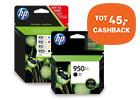 Tot 45,- cashback HP originele inkt