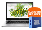 GRATIS JBL speaker t.w.v. 29,- bij een HP notebook of pc