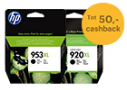 Tot 50,- cashback HP originele inkt