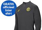 Gratis Inter Milan shirt t.w.v. 71,- bij geselecteerde Lenovo PC's en laptops.