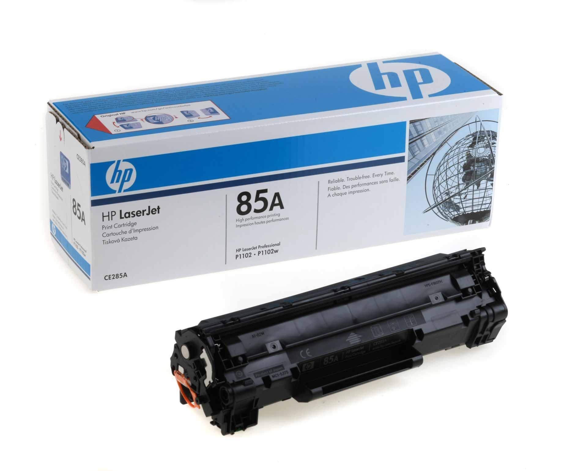 U werkt veilig met originele HP inkt en toners