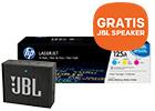 Tot 100,- cashback + GRATIS JBL speaker t.w.v. 29,- bij aankoop van HP tonersets