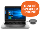 HP notebook + GRATIS HP speakerphone t.w.v. 139,-