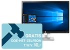 HP krachtige monitoren + GRATIS Praxis cadeaukaart t.w.v. 10