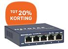 NETGEAR trakteert op netwerk korting