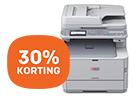 30% korting op OKI kleurenprinters & MFP's