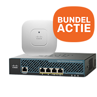 Scherp geprijsde Cisco controller + 2 access points