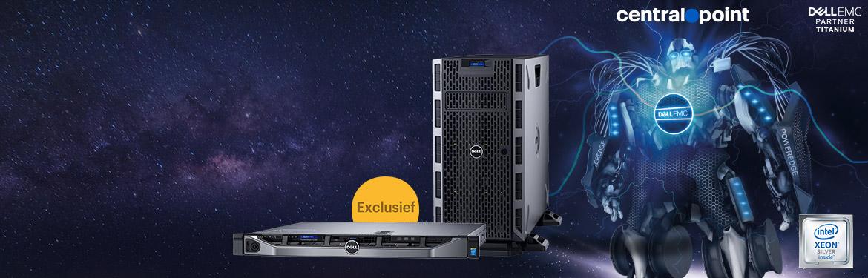 Stel makkelijk en voordelig een Dell PowerEdge server samen