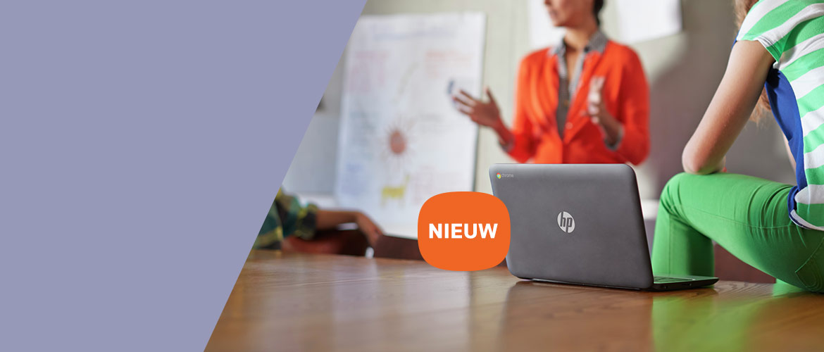 De nieuwe HP Chromebook x360 G1 is de ideale notebook voor studenten