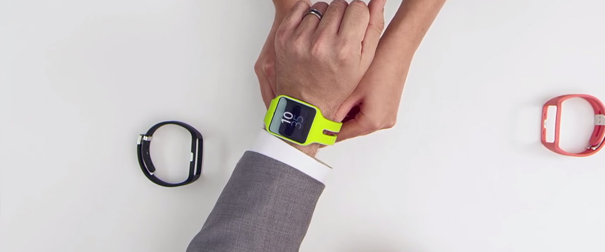 Sony SmartWatch lime Green is op voorraad