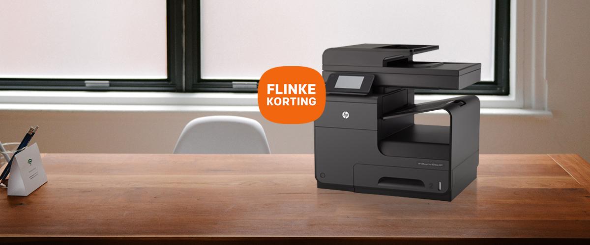 Koop nu een HP Officejet Pro X printer met hoge korting