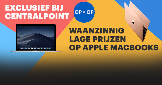 Waanzinnige Apple MacBook aanbiedingen