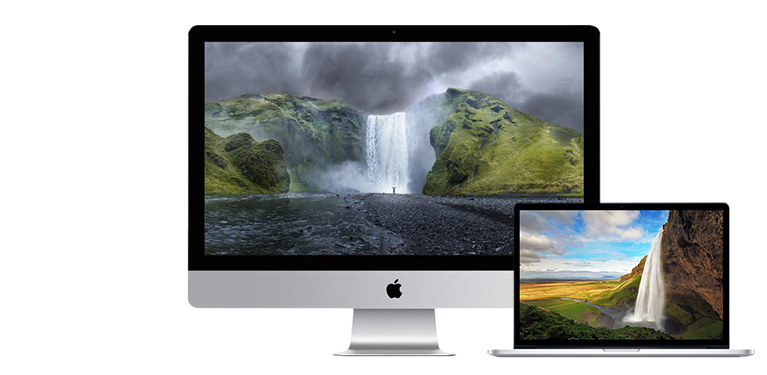 Nieuwste Apple MacBook 15'' en iMac 27''