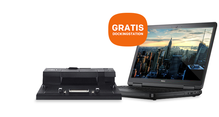 GRATIS Dock bij diverse Dell laptops