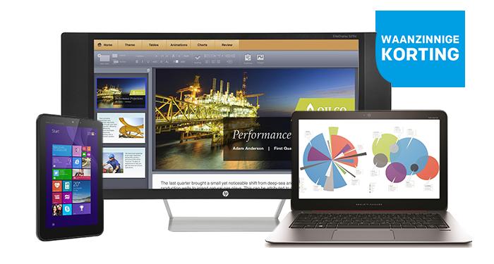 Nu krachtige HP producten met veel korting