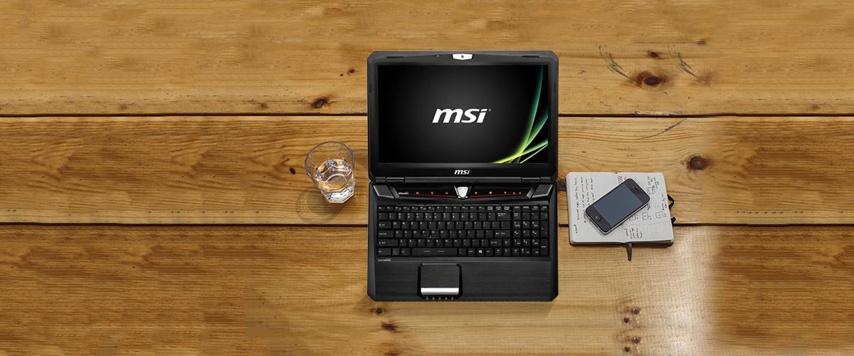 MSI notebooks prijsverlaging