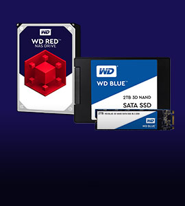 WD RED & BLUE