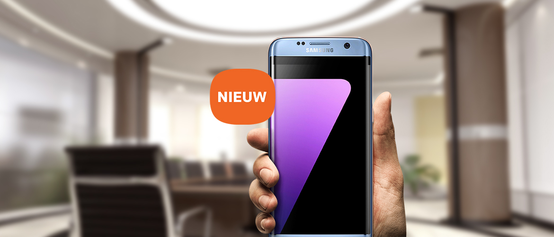 Samsung Galaxy S7 edge - Blue Coral