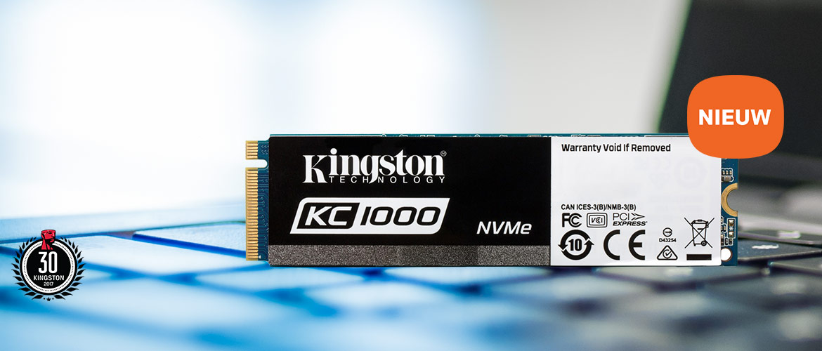 Nieuwe Kingston KC1000 Solid-State Drive