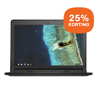 25% korting op Dell Chromebook: