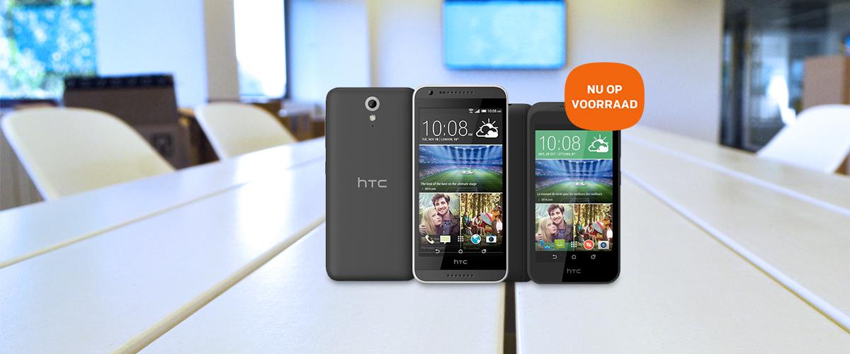 HTC Desire 320 & 620 is weer op voorraad
