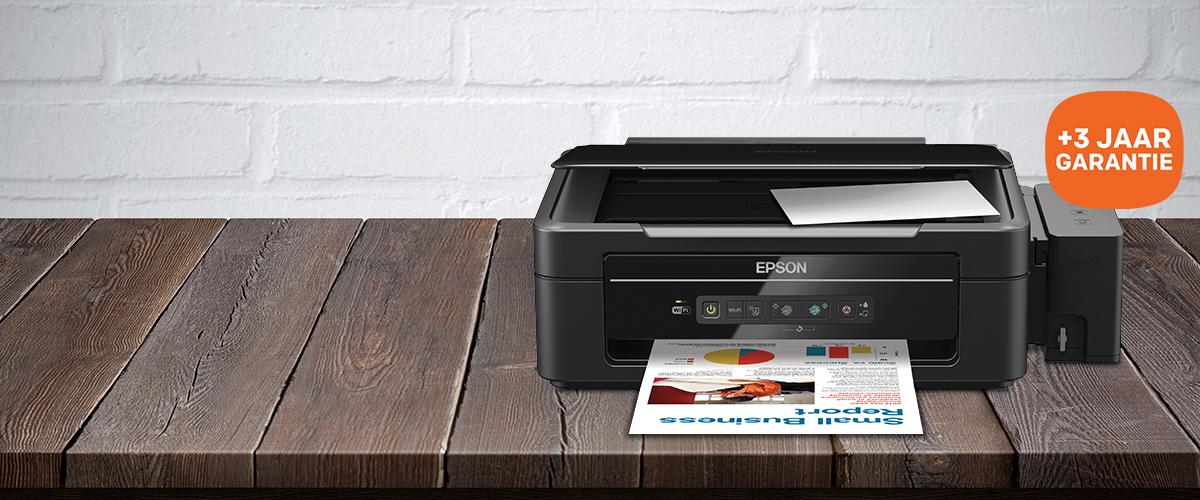 Drie jaar garantie bij Epson printers