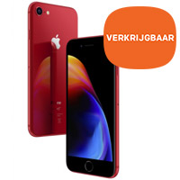 De nieuwe iPhone 8 en 8 Plus (PRODUCT)RED Special Edition