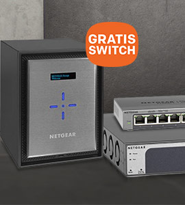GRATIS 8-P ProSAFE switch