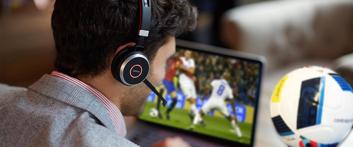 GRATIS voetbal bij een Jabra investering vanaf 250,-