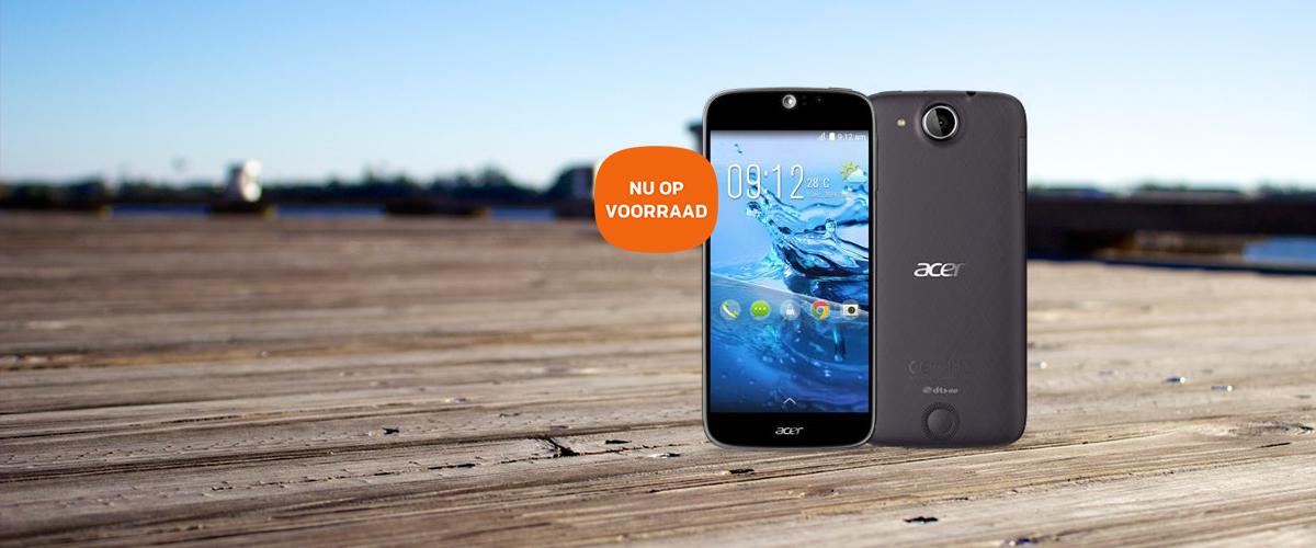 Nu verkrijgbaar: de Acer Liquid Jade S smartphone