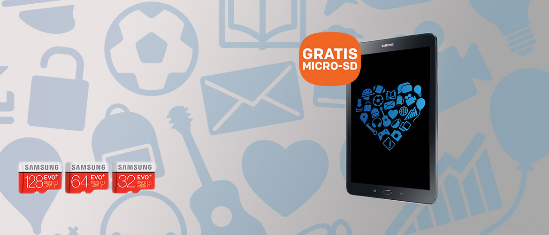 Samsung Galaxy actie: GRATIS extra geheugen