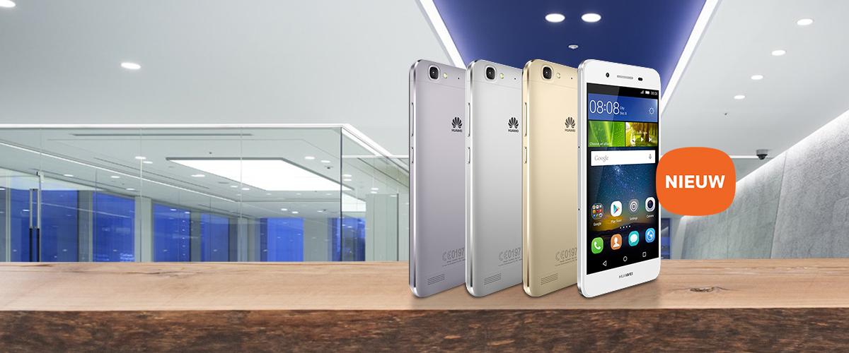 De nieuwe Huawei GR3 smartphone