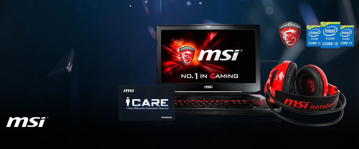 MSI gaming bundelactie