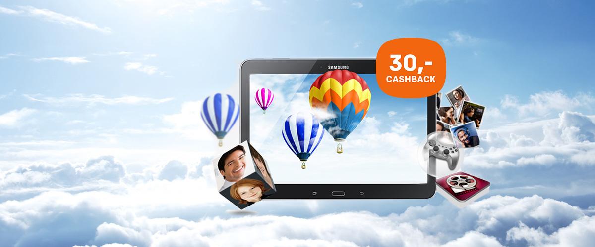 Samsung Cashback actie