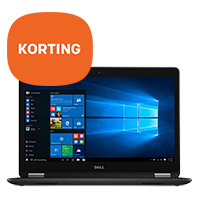 10% korting op Dell desktop pc's en notebooks